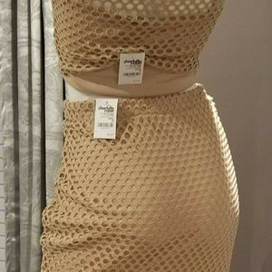 Charlotte Russe Nude 2-piece (sold)
